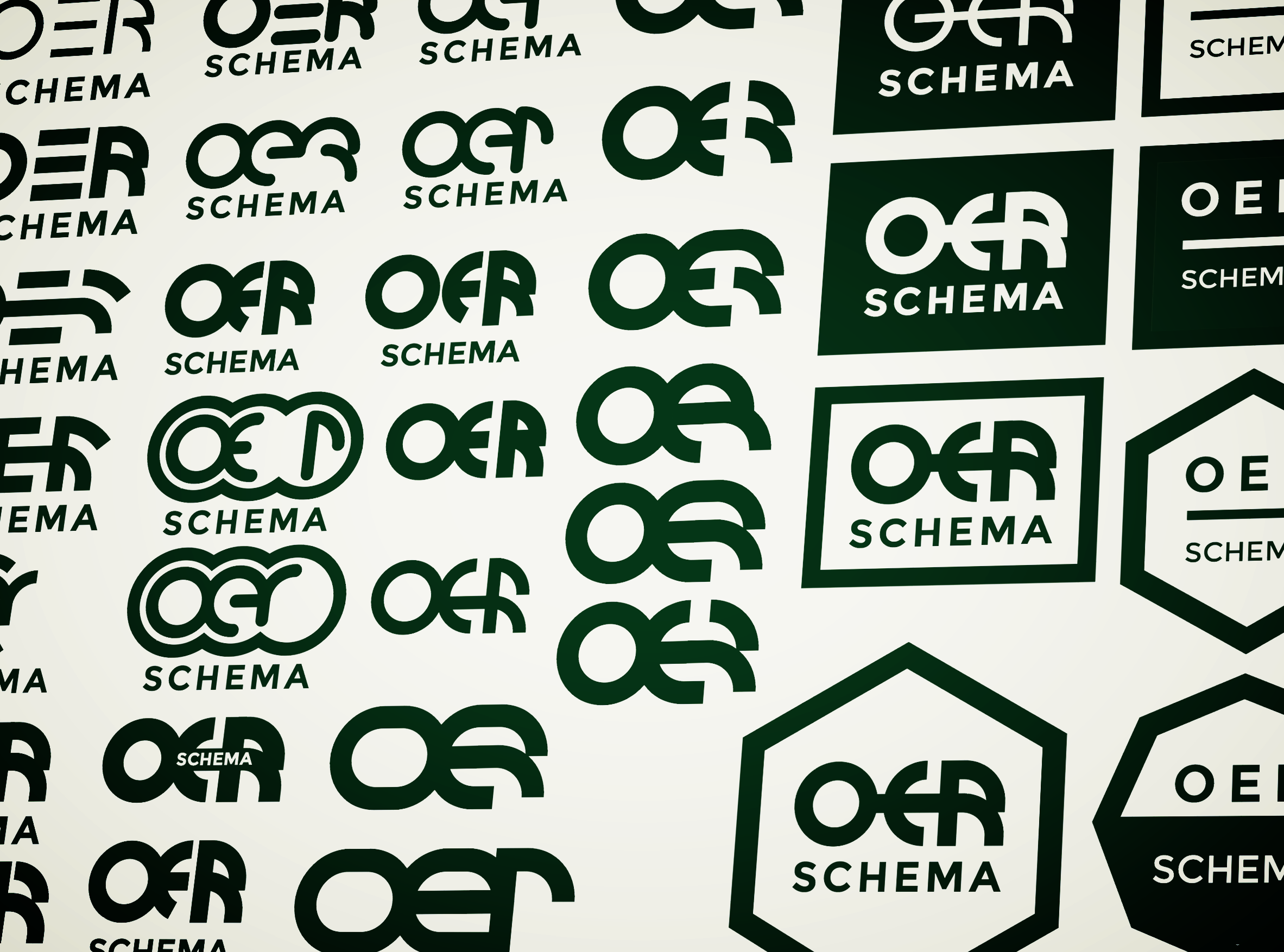 OER logo development sheet