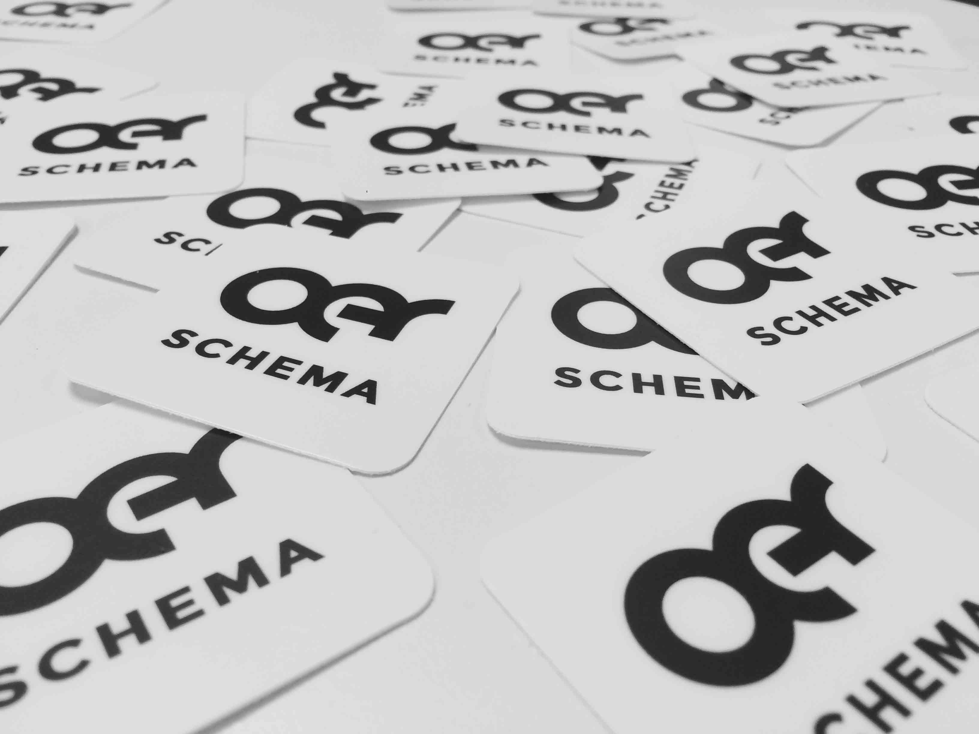 OER Schema stickers