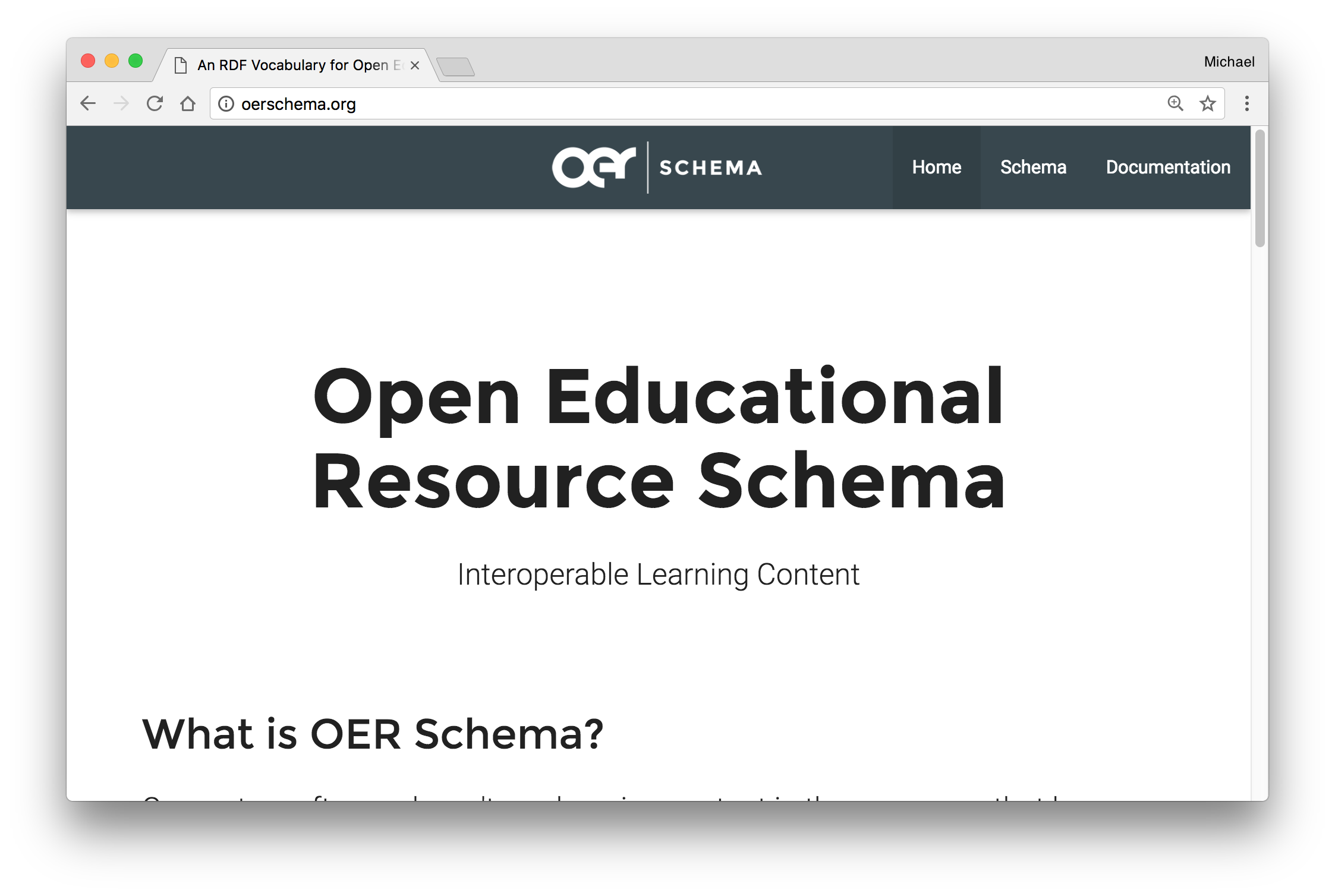 oer schema project image