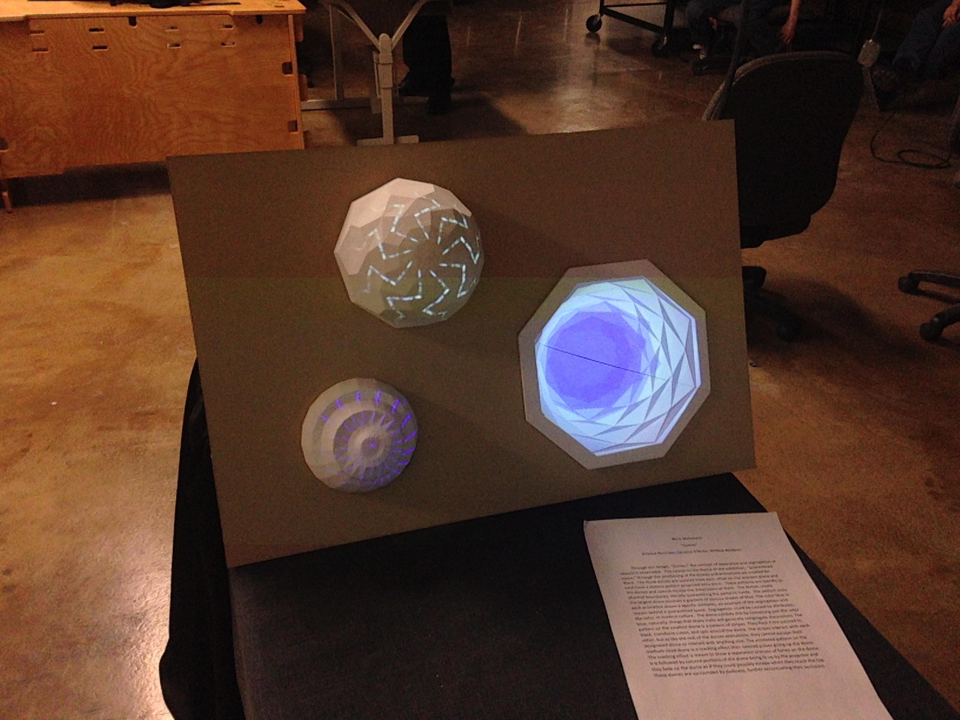 Installation by Kristina Avanzato, Bill Waldron, Caroline O'Brien, 2014